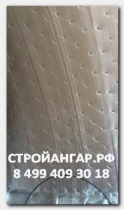 как выглядит тепофол- материал которым мы утепляем свои бескаркасные арочники