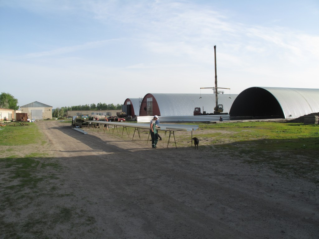 бескаркасный ангар в Пензенской области заказать ангар 8 499 409 30 18